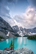 Banff Prints - Moraine Cloud Burst Print by Jon Glaser