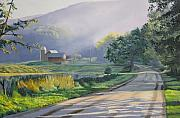 Morning Mist Print by Kenneth Young