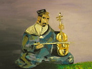 Moroccan Originals - Moroccan Violin Player by Harry Pity