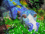 Cindy Nunn - Mosaic Dragon