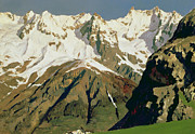 Isaak Ilyich Levitan - Mount Blanc Mountains