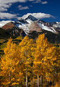 Autumn Scenes Framed Prints - Mountainous Wonders Framed Print by Darren  White