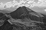 Black Top Prints - Mt. Lindsey Print by Aaron Spong