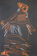 Jesus Drawings Framed Prints - Muganda Lady - Uganda Framed Print by Gloria Ssali
