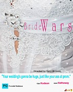 At Poster Digital Art - My Bride Wars Movie Poster by Liane Wright