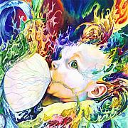 Visionary Art Art - My Soul by Kd Neeley