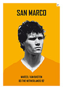Nickname Prints - My van Basten soccer legend poster Print by Chungkong Art
