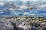 Halifax Prints - Mysterious Calm Print by Betsy A Cutler East Coast Barrier Islands