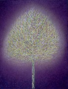 Representational Painting Prints - Mystical Tree Print by Peter Davidson