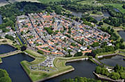 North Holland Prints - Naarden, North Holland Print by Bram van de Biezen