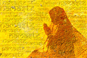 Religious Digital Art Prints - Namaste  Print by Tim Gainey