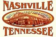 Nashville Tennessee Mixed Media - Nashville Tennessee Poster by Peter Art Print Gallery  - Paintings Photos Posters