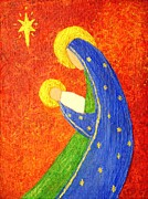 Nativity Paintings - Nativity by Pattie Calfy
