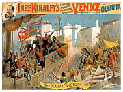 Warfare Painting Metal Prints - Naval Victory Metal Print by Terry Reynoldson