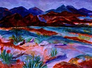 Ellen Levinson - Nevada Red Rocks - Dusk -colorized