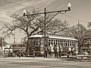 Steve Harrington - New Orleans Streetcar sepia
