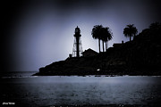 Cheryl Young - New Point Loma Lighthouse silhouette