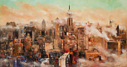 Manit - New York City Through the Clouds