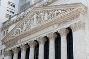 New York Stock Exchange Prints - New York Stock Exchange I Print by Clarence Holmes