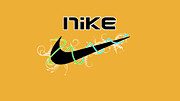 Nike Digital Art Metal Prints - Nike Metal Print by Roy Lavi