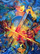 Cello Art - No Blue Notes by Jen Norton