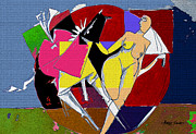 Artist  Singh - Nude With A Horse