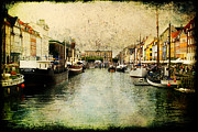 Joan Mccool Metal Prints - Nyhavn Metal Print by Joan McCool