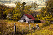 Debra and Dave Vanderlaan - Old Barn in Autumn