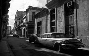 Antique Automobiles Photos - Old Havana by James Brunker