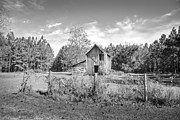 Old Outbuilding Fine Art Print by Judy Hall-Folde