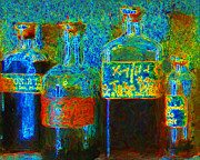 Wingsdomain Art and Photography - Old Pharmacy Bottles - 20130118 v1a