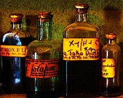 Wingsdomain Art and Photography - Old Pharmacy Bottles - 20130118 v1b