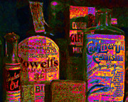 Wingsdomain Art and Photography - Old Pharmacy Bottles - 20130118 v2a