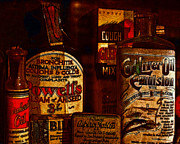 Wingsdomain Art and Photography - Old Pharmacy Bottles - 20130118 v2b