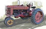 RG McMahon - Old Red Tractor