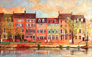 Old Town Alexandria IIi Print by Christopher Clark
