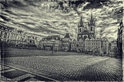 Old Town Square Staromestske Namesti Prague Fine Art Print by Valerii Tkachenko