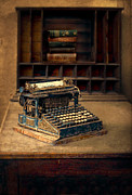 Typewriter Keys Photos - Old Typewriter by Jill Battaglia