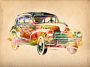 Volkswagen Beetle Framed Prints - Old Volkswagen Framed Print by Mark Ashkenazi