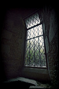 Cloistered Prints - Old Window Print by Jill Battaglia