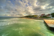 Omaha Prints - Omaha Beach  Print by Rob Hawkins