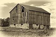 Steve Harrington - Ontario Barn sepia