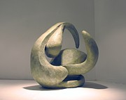 Canvas  Sculptures - Organic 6 by Flow Fitzgerald