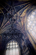 Cloistered Prints - Ornate Ceiling Print by Jill Battaglia