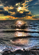 Dan Carmichael - Outer Banks - Radical Sunset on Pamlico