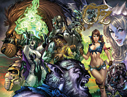 Cowardly Lion Posters - Oz 01k Poster by Zenescope Entertainment