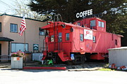 Wingsdomain Art and Photography - P Town Cafe Caboose Pacifica California...