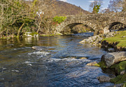 Packhorse Prints - Packhorse Bridge Lake District Print by Trevor Kersley
