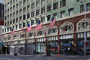 Wingsdomain Art and Photography - Palomar Hotel and Old Navy in Downtown...
