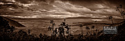 Darcy Michaelchuk - Panoramic View of Ngorongoro Crater BW